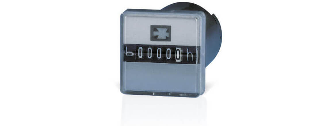 Electromechanical hour counters AC: 200.4 , DC: 208