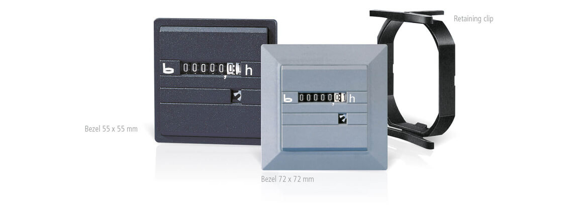 Electromechanical hour counters Accessoires